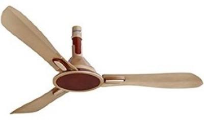 Orient Areta 3 Blade Ceiling Fan(Golden Beige and Coffee)