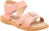 Foot Candy Girls Slip-on Flats (Pink)