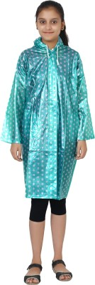 Finery Polka Print Girls Raincoat