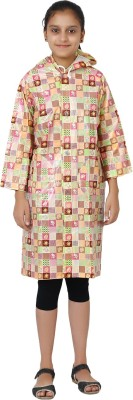 Finery Graphic Print Girls Raincoat