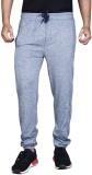 Fingers Solid Men's Grey Track Pants