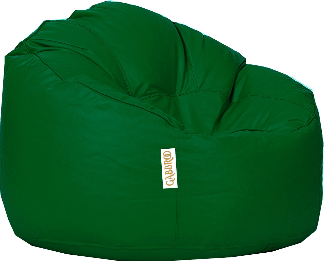 View Gabbroo XXXL Lounger Bean Bag Cover(Green) Furniture (StyleCraft)