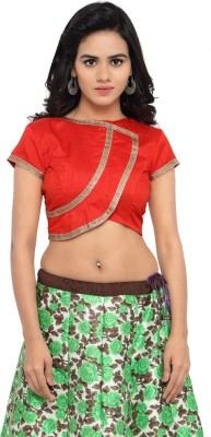 Aagaman Fashion Round Neck Women's Stitched Blouse at flipkart