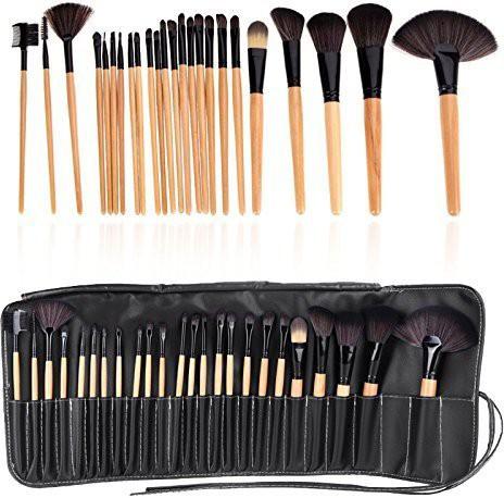 Ladista Makeup Brush Set Professional Tool Kit Comestic Brushes(Pack of 24)