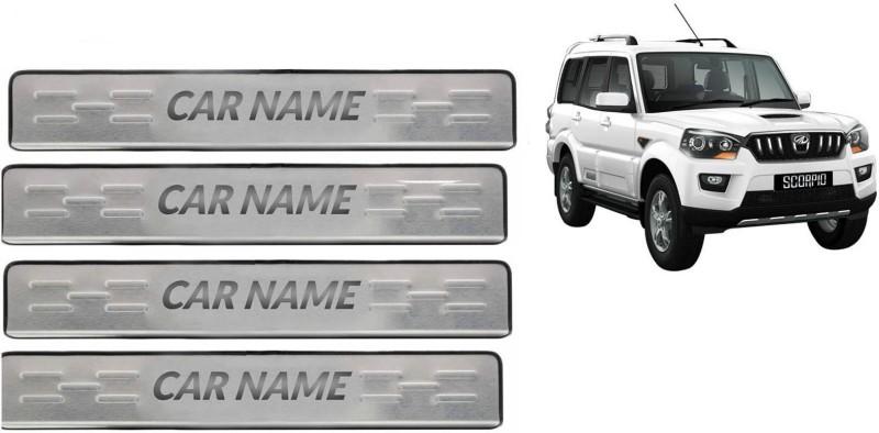 Kingsway Stainless Steel Car Door Guard(Silver, Pack of 4, Mahindra,...