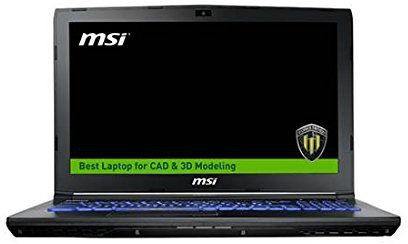 View MSI WE Series Core i7 7th Gen - (16 GB/1 TB HDD/128 GB SSD/Windows 10/4 GB Graphics) WE62 7RJ Notebook(15.6 inch, Black) Laptop
