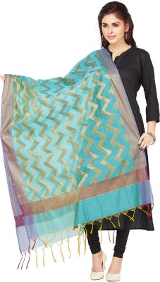 Rani Saahiba Chanderi, Art Silk Self Design Women's Dupatta at flipkart