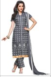 Crally Cotton Embroidered Salwar Suit Ma...