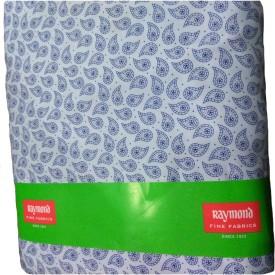 Raymond Cotton Polyester Blend Printed Shirt Fabric(Un-stitched)