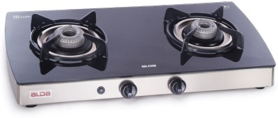 GLEN Alda CTA 122 Glasstop Glass, Auto ignition Gas Stove (2 Burners) Glass Automatic Gas Stove(2 Burners) at flipkart