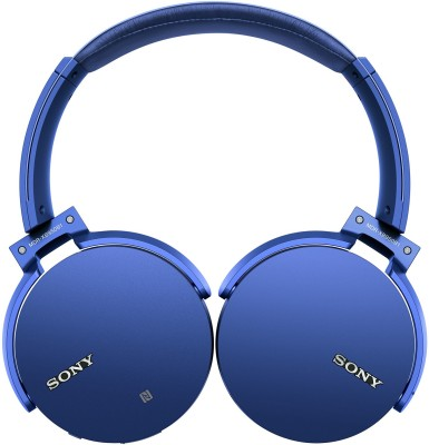 Sony MDR-XB950B1 Wireless Bluetooth Headset With Mic(Blue)
