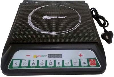 Suryamate A-8 Induction Cooktop(Black, Push Button)