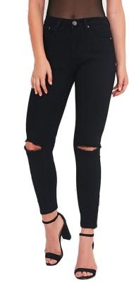 Rock Hudson Regular Women's Black Jeans at flipkart