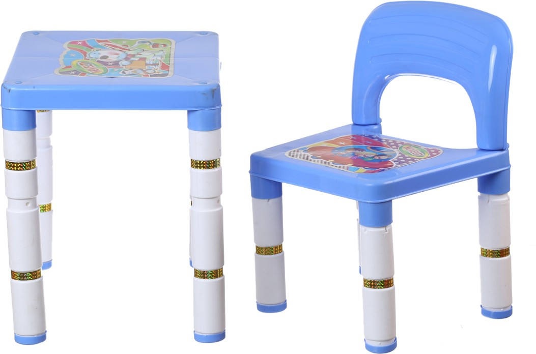 View NHR Plastic Desk Chair(Finish Color - Blue) Furniture (NHR)