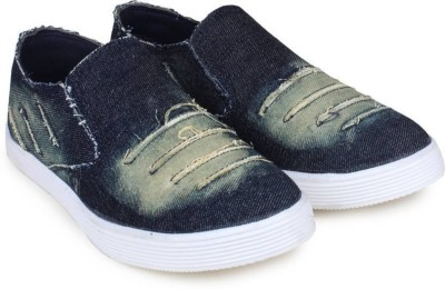 Clerk Boys & Girls Slip on Loafers(Dark Blue)
