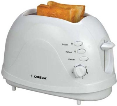 Oreva OPT-709 300 W Pop Up Toaster(White)