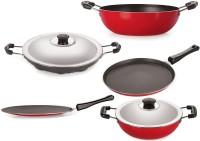 NIRLON Best Cooking Set Tawa, Kadhai, Paniyarakkal Set