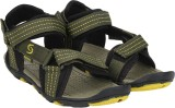 Exotic Men Green Sports Sandals
