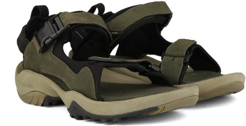 Woodland Men OLIVE Sports Sandals