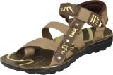 Ethics Men Brown Sports Sandals