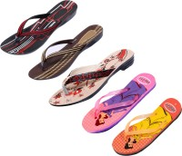 Indistar Women Red::Black::Brown::Pink:Blue::Orange:Yellow Sandals