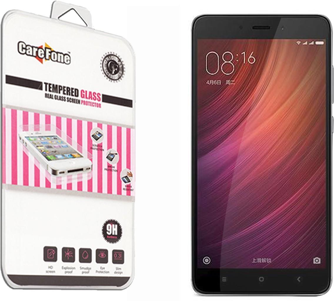 CareFone Tempered Glass Guard for Mi Redmi Note 4