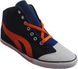 GS Sneakers (Blue, Orange)