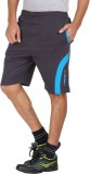 Greenwich Solid Men's Blue Sports Shorts