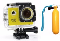 Flipfit ULTRASHOTx Waterproof Digital 89 YELLOW Sports and Action Camera(Yellow 10.4 MP)