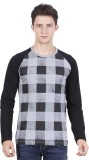 Freakster Printed Men's Round Neck Grey ...