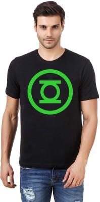 Irongrit Printed Men's Round Neck Black T-Shirt