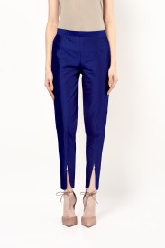 FABULEUX Slim Fit Girl's Blue Trousers
