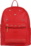 Bags R Us Studded 12 L Backpack (Red)