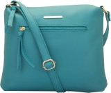 LAPIS-O-LUPO Sling Bag (Turquoise, 9 L)