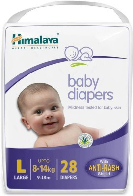 Himalaya Diapers large 28 Pcs - L(28 Pieces)