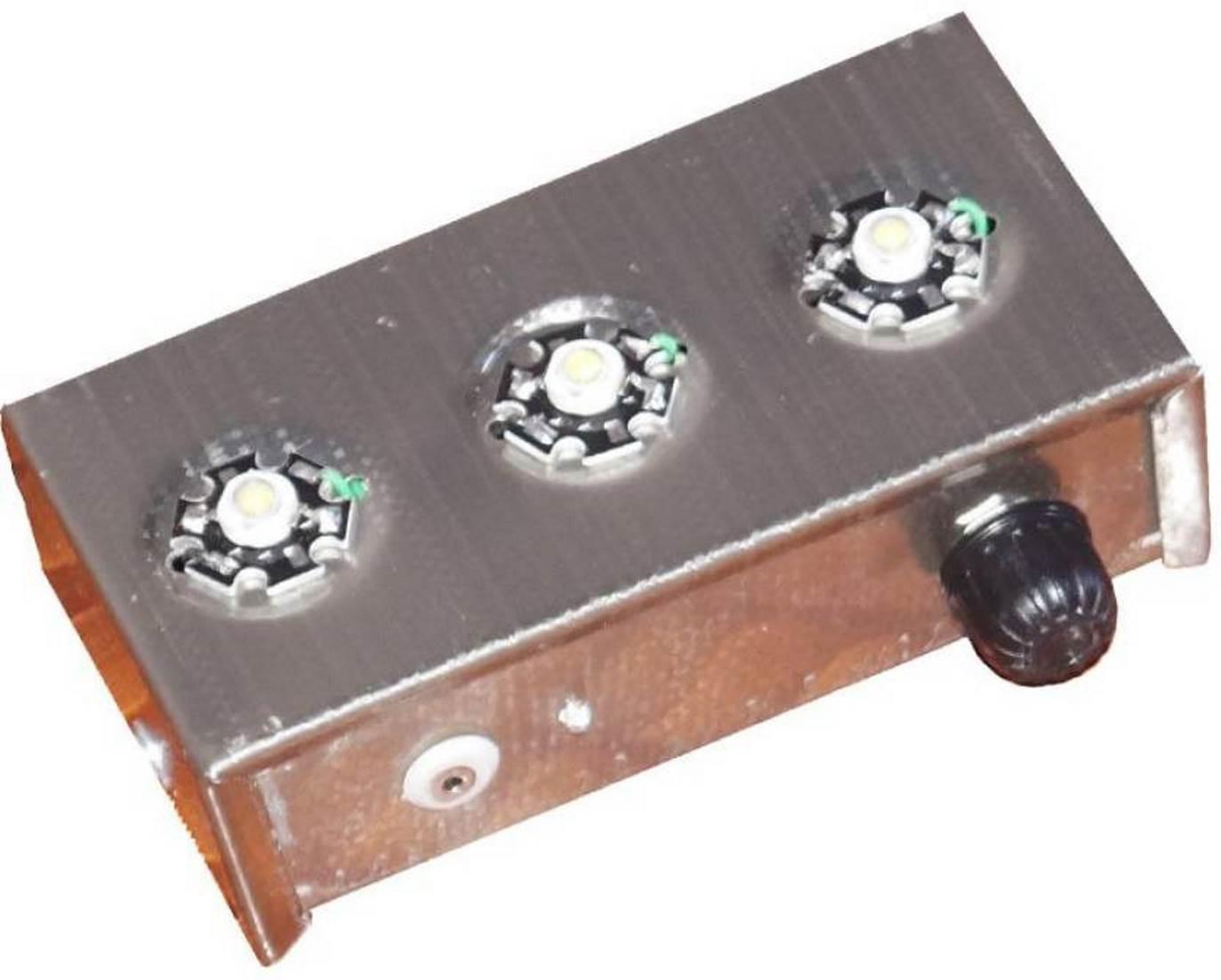View roshni 3 led portable Emergency Lights(Brown) Home Appliances Price Online(roshni)