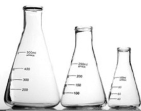 BFC Erlenmeyer Flask(500 ml, Pack of 3)