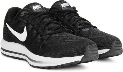 Nike AIR ZOOM VOMERO 12 Running Shoes(Black) at flipkart