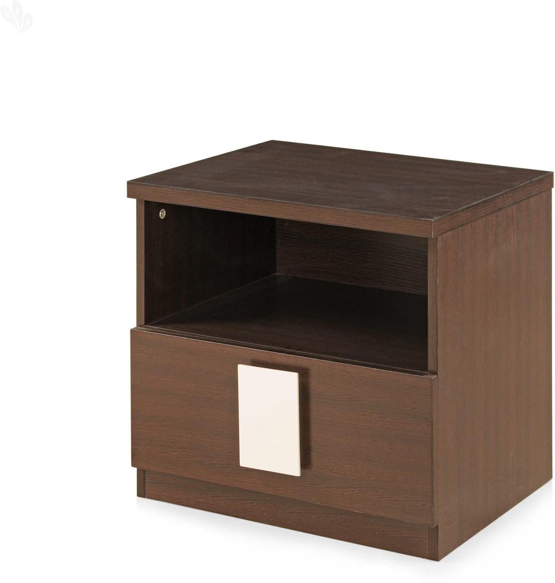 View Berlynoak Monark Engineered Wood Bedside Table(Finish Color - Brown) Furniture (Berlynoak)