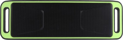 Yuvan BS - 113 Portable Bluetooth Mobile/Tablet Speaker(Green, Stereo Channel)