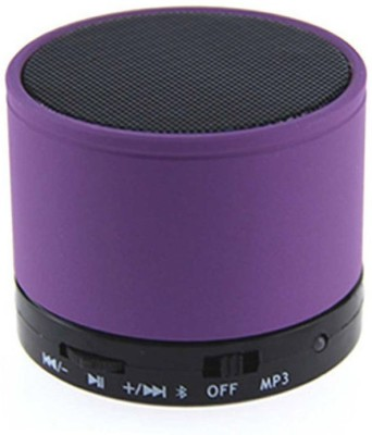 Jiyanshi S10 Portable Bluetooth Mobile/Tablet Speaker(Purple, 2.1 Channel)