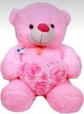 stuffed toy Teddy Bear  - 30 inch (Pink)
