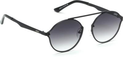 eddbee2e9e9d9 IDEE S2232 C1 Medium 49mm Black Shaded Round Sunglasses Black Best ...