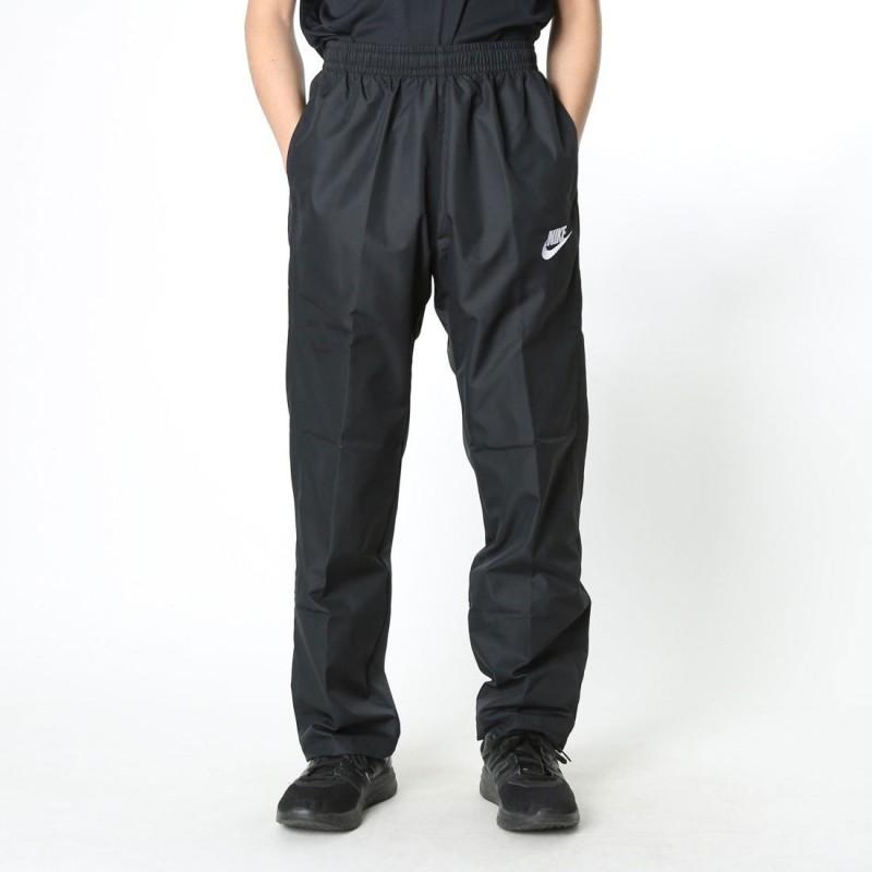 Nike Solid Men's Black Track Pants
