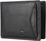 Cuzdan Men Black Genuine Leather Wallet ...