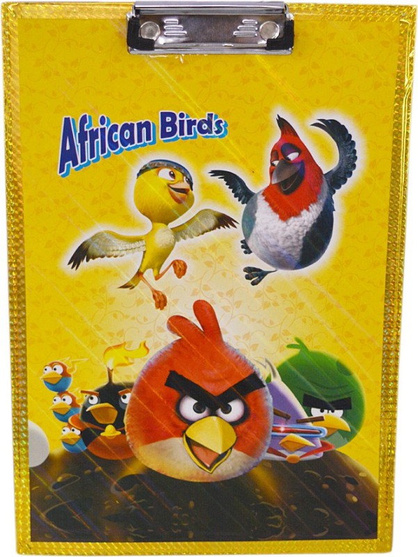 Saamarth Impex Angry Birds SI-5414 Examination Pads(Set of 1, Yellow)