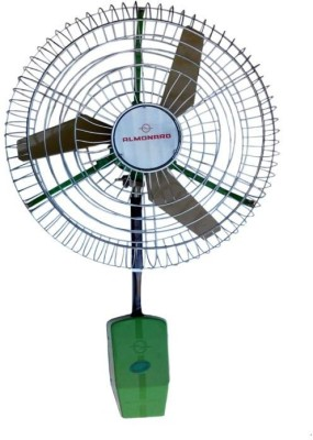 Almonard 30 Air Circulator 3 Blade Wall Fan(Green)