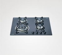 Glen BHA164TRGLS Glass Automatic Gas Stove(4 Burners)