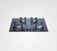 Glen BHA174TRGLS Glass Automatic Gas Stove(4 Burners)