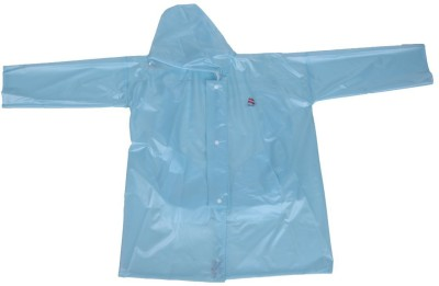 Clubb Solid Boys & Girls Raincoat